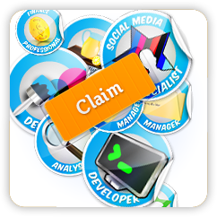 Claim a professional badge